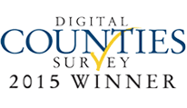 2015 Digital Counties Survey Winner Banner