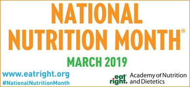 2019 National Nutrition Month