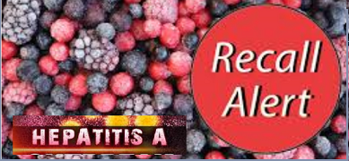 Hep A Outbreak - Frozen Fruit