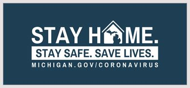 Stay Home, Stay Safe and Save Lives